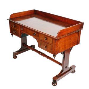 Mid 19th Century Knee Hole Side Table