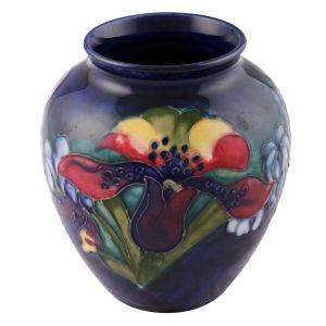Walter Moorcroft Orchid Vase