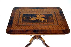 A Fantastic Italian Inlaid Sorrento Table