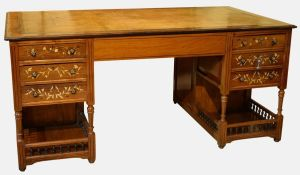 19thc Anglo-indian Partners Desk