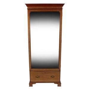Mahogany Mirror Door Wardrobe