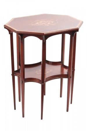 Fine Inlaid Mahogany Centre/lamp Table