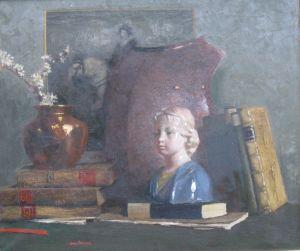 James Paterson (scottish 1854-1932) 'still Life' Oil C1910.