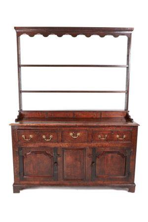 Early 18th Century Oak Welsh Dresser