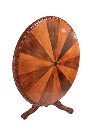 Rare & Unusual Round Specimen Centre Table C.1850