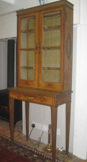 Moller & Cedarhurst, New York Circa 1911 Painted Cabinet