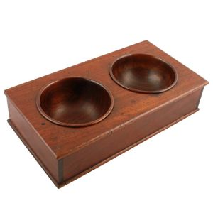 "Georgian Mahogany ""treen"" Coin Tray"
