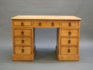 Gillows Gothic Revival Desk