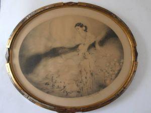Louis Icart (1888-1950) La Dame Aux Camelias, 1927