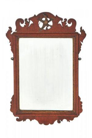 George Iii Mahogany Wall Mirror