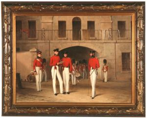 Officers Of The 7th Royal Fusiliers.