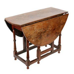 18th Century Oak Gate Leg Table