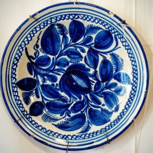 Blue Delft Valencia Charger Circa 1830