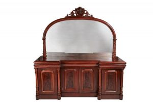 Fantastic Quality Large Victorian 4 Door Sideboard C. 1860