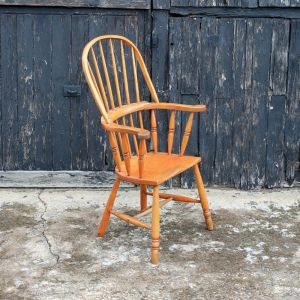 Victorian Antique Windsor Style Armchair