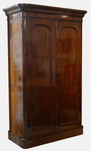 Mahogany 2 Door Wardrobe / Press
