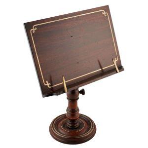 Regency Brass Inlaid Reading Stand