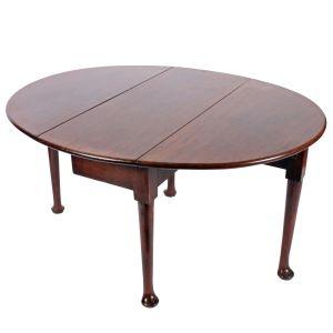 18th Century Pad Foot Drop Leaf Table