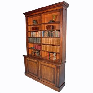 19th Century Mahogany Library Bookcase