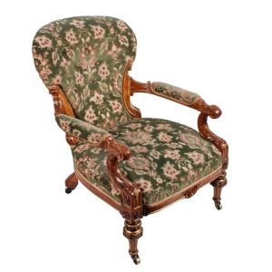 Antique Gent's Chair By Johnstone & Jeanes