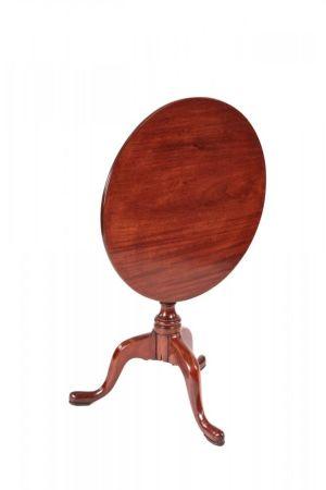 George Iii Mahogany Tripod Table On Cabriole Legs