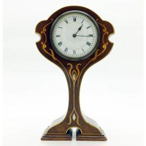 Inlaid Stringing Mantle Clock
