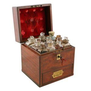 Victorian Mahogany Apothecary Box