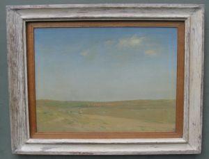 Sir Herbert James Gunn R.a. (1893-1964)'across The Plain, Toledo'.