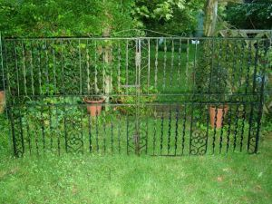 Decorative Wrought Iron Gates