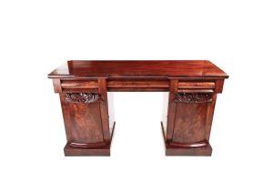 Elegant William Iv Mahogany Sideboard C.1835