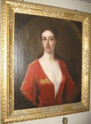 18th Century Portrait Of A Lady Fol. Of Sir Godfrey Kneller Bt (1646-1723)