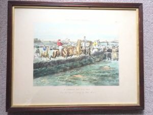 After George Finch Mason - A Set Of Four Aquatints Entitled 'the Billiard Stakes'