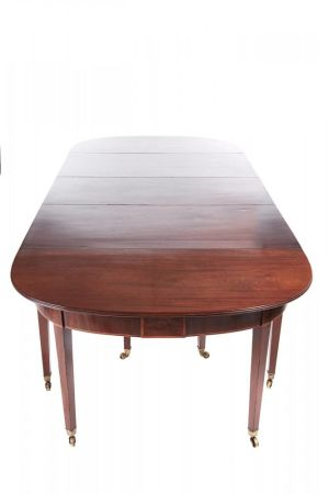 Fine George Iii Mahogany Dining Table