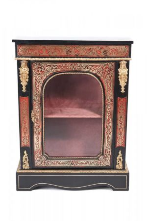Fine Antique French Boulle Side Cabinet C. 1850