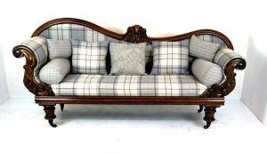 Stunning Victorian Mahogany Double Ended Sofa