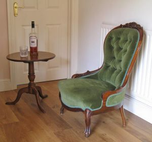 Lady's Slipper Chair