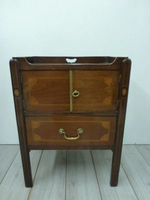 Side Cupboard With Unusual Tray Top