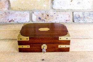 Mahogany Gents Box C.1800