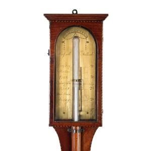 Scottish Russell Of Falkirk Stick Barometer