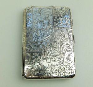 Antique Silver Aide Memoir