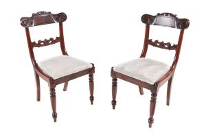 Antique Mahogany Side Chairs