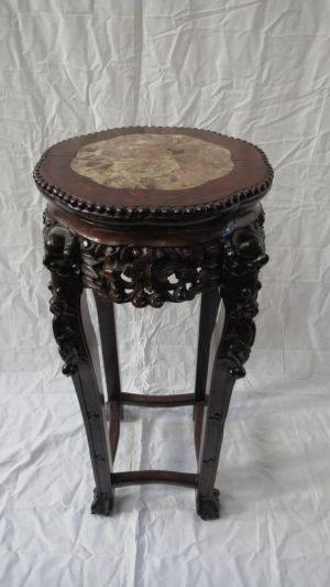 Antique Chinese Urn Stand