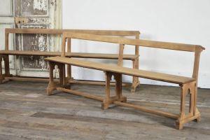 Pair Of Art Nouveau Benches