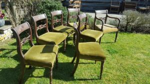 Set Of 7 Dining  Chairs