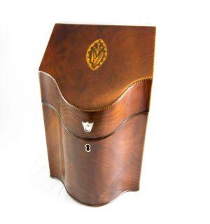 Mahogany Knife Box C.1790