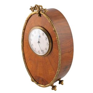 Art Deco Walnut Mantel Clock