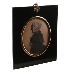 Silhouette Of A Lady