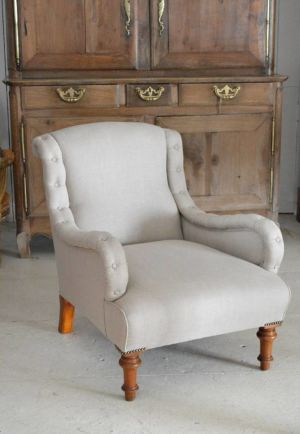 19th Century Bible Front Chair