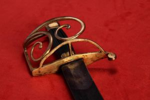 British Infantry Or Navy 's' Bar Hilted Sabre - Circa 1790 - 1800