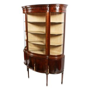 Hepplewhite Style Display Cabinet